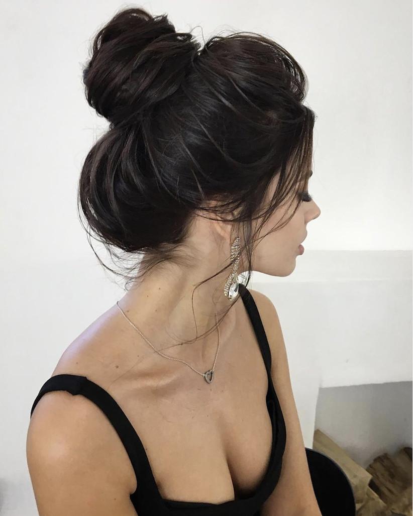 Wedding hair updo ideas 22