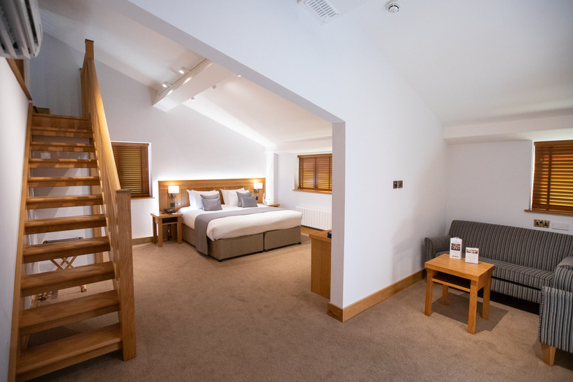 A suite at Tewin Bury Farm in Hertfordshire