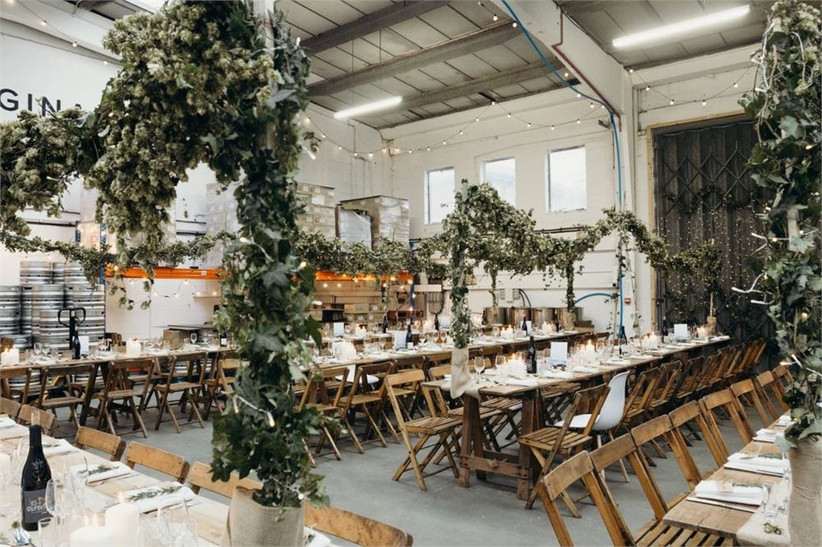 London Pub Wedding Venues The Small Beer Brewery