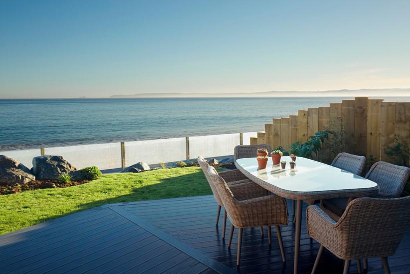 Carbis Bay garden terrace