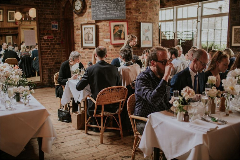 le cafe du march - best pub wedding venues