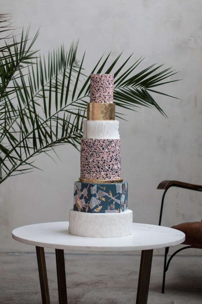Terrazzo-Wedding-cake