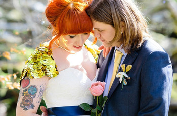 27 Tattooed Brides That Will Make You Want to Get Inked For Your Wedding Day