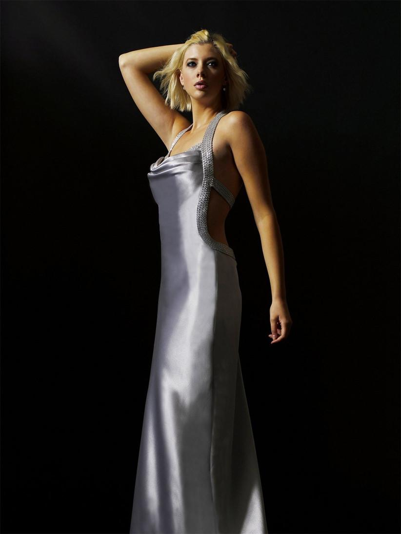 luna-silver-bridesmaid-dress