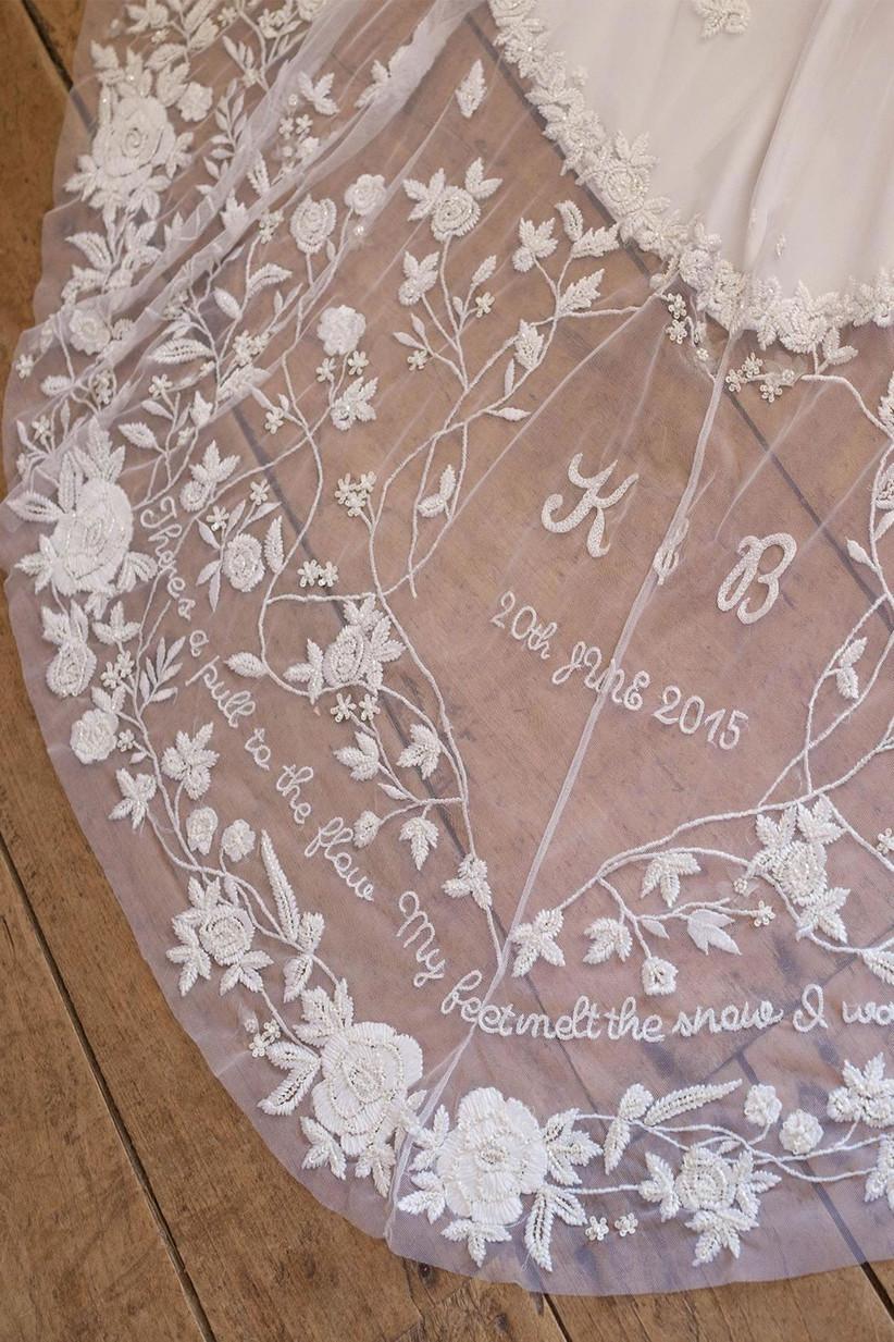 Wedding Dresses with Secret Messages