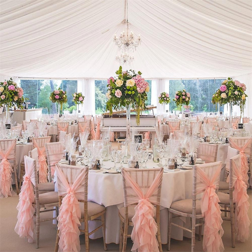 ruffled-pink-chair-sashes