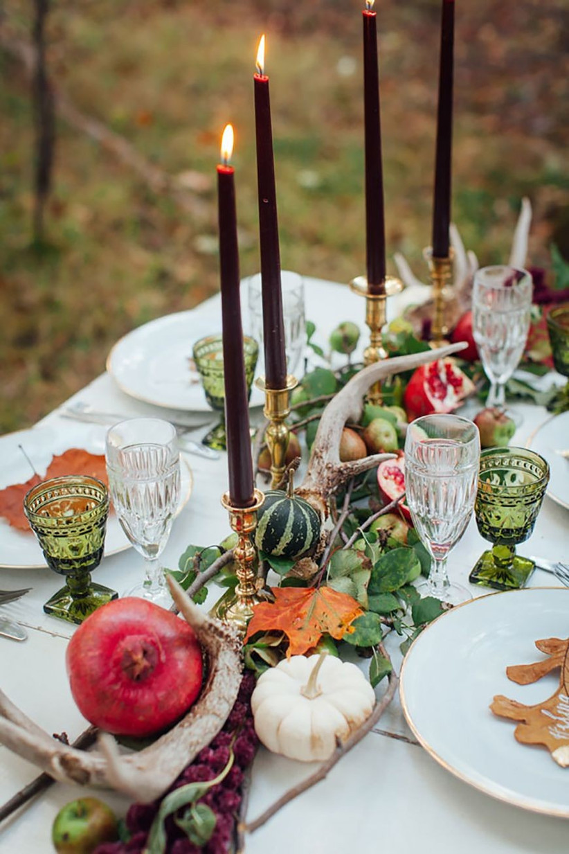 autumn centrepiece ideas