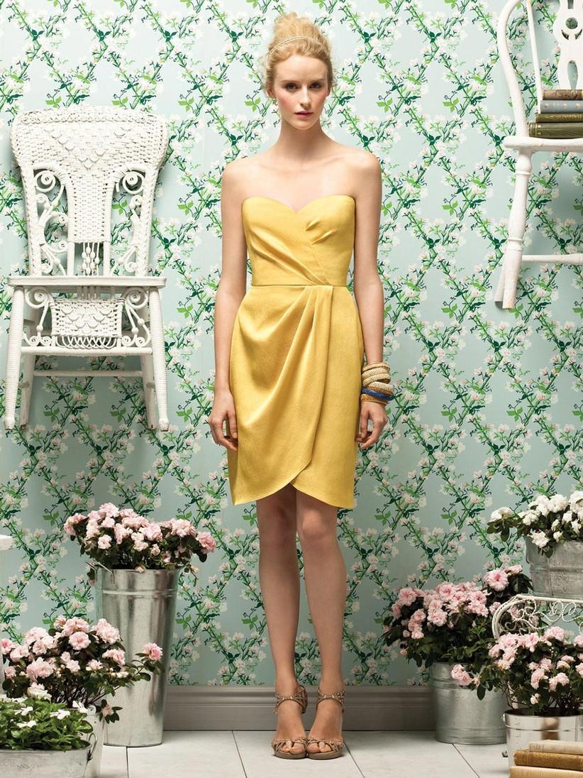 short-yellow-bridesmaid-dress-from-lela-rose
