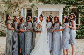 17 Times Mix and Match Bridesmaids Gave Us Style Goals