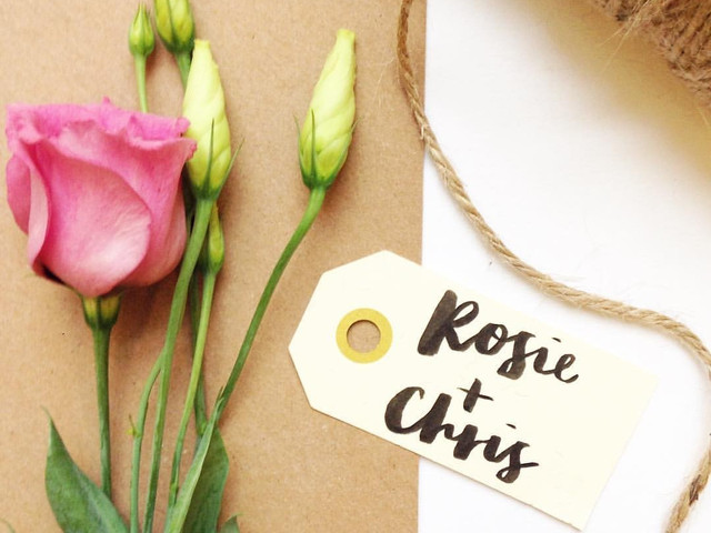 How to Do Modern Calligraphy for Your Wedding: Your Step-by-Step Guide to Brush Lettering