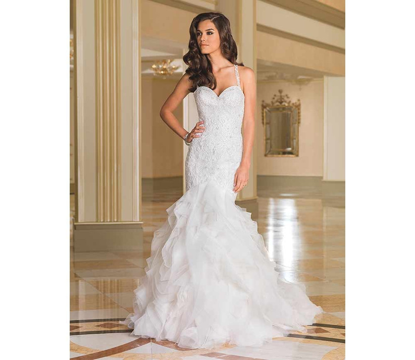 ruffled-skirt-fishtail-wedding-dress-by-justin-alexander
