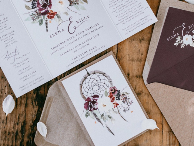 The Best Eco-Friendly Wedding Invitations