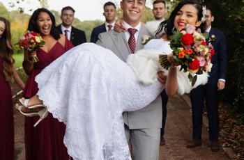 Real Covid Wedding: Daniella and Jayson, Registry Office Followed by an Italian Restaurant in London