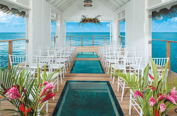 Over-the-Water Weddings in the Caribbean