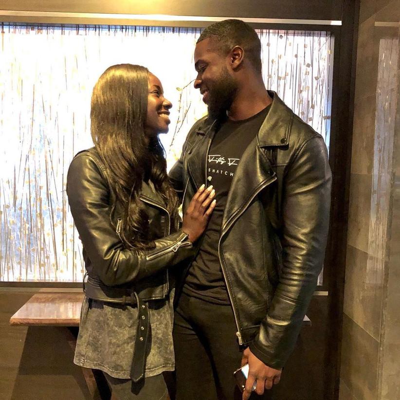 Mike Boateng and Priscilla Anyabu