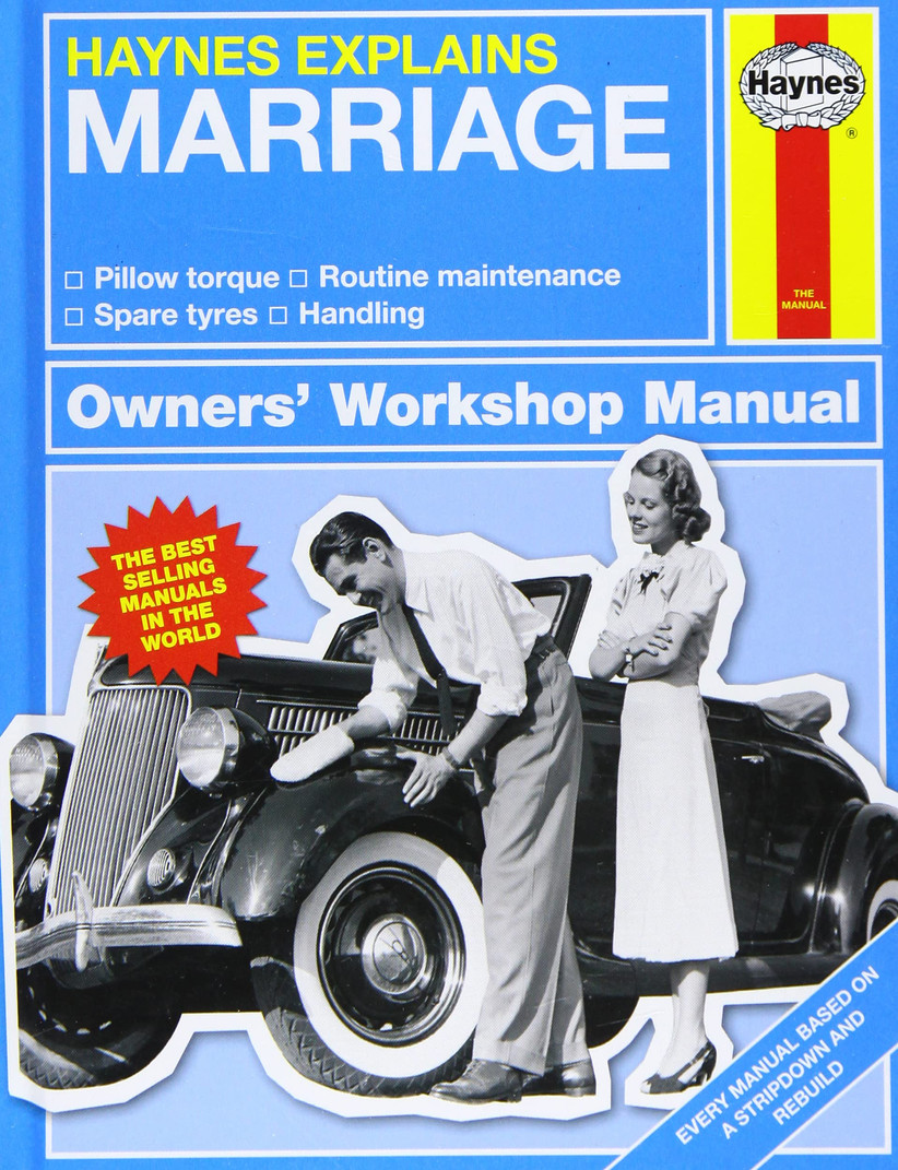 Funny marriage manual