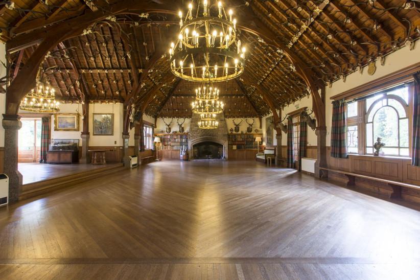 The Victorian Ballroom at Glen Tanar
