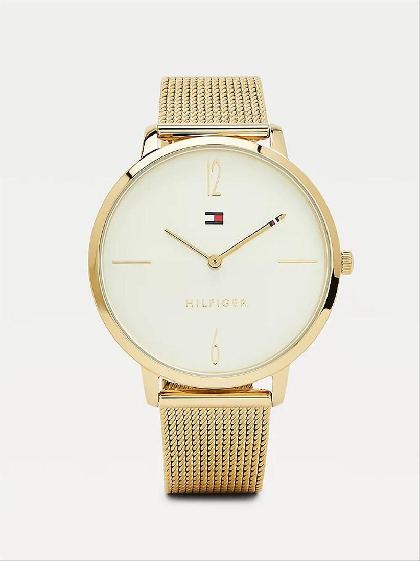 Tommy Hilfiger gold watch