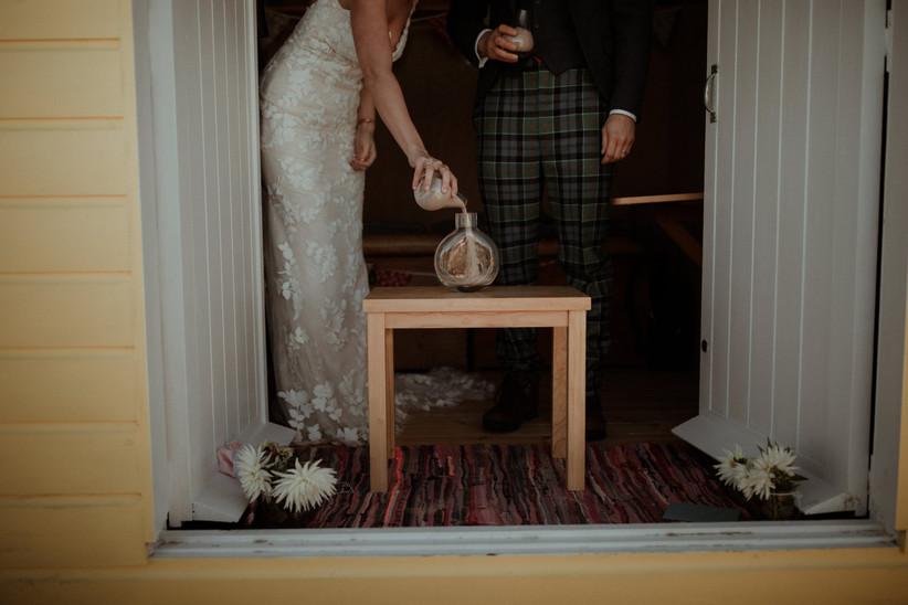 Real Covid Wedding: Camilla and Angus