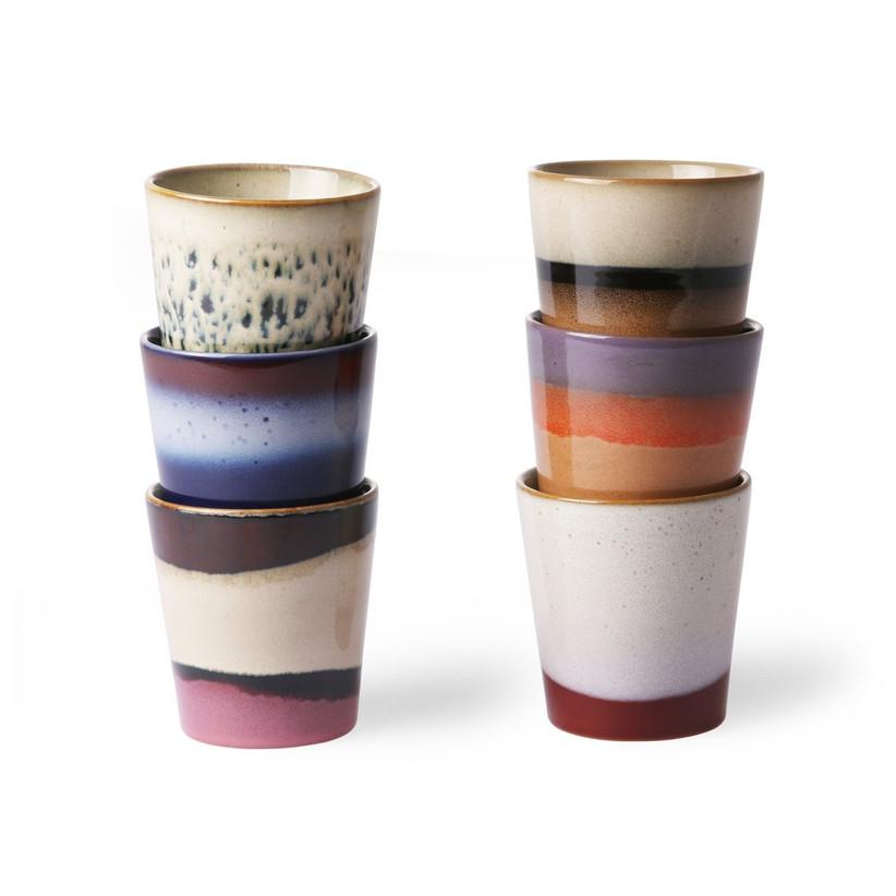 stone 70s mugs