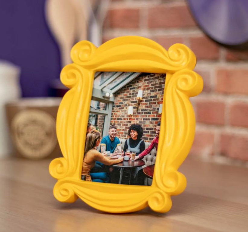 Friends peephole frame for table numbers