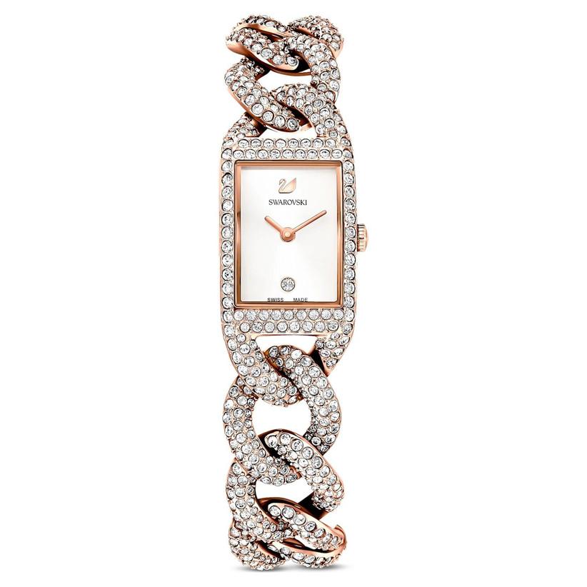Swarovski crystal cocktail watch
