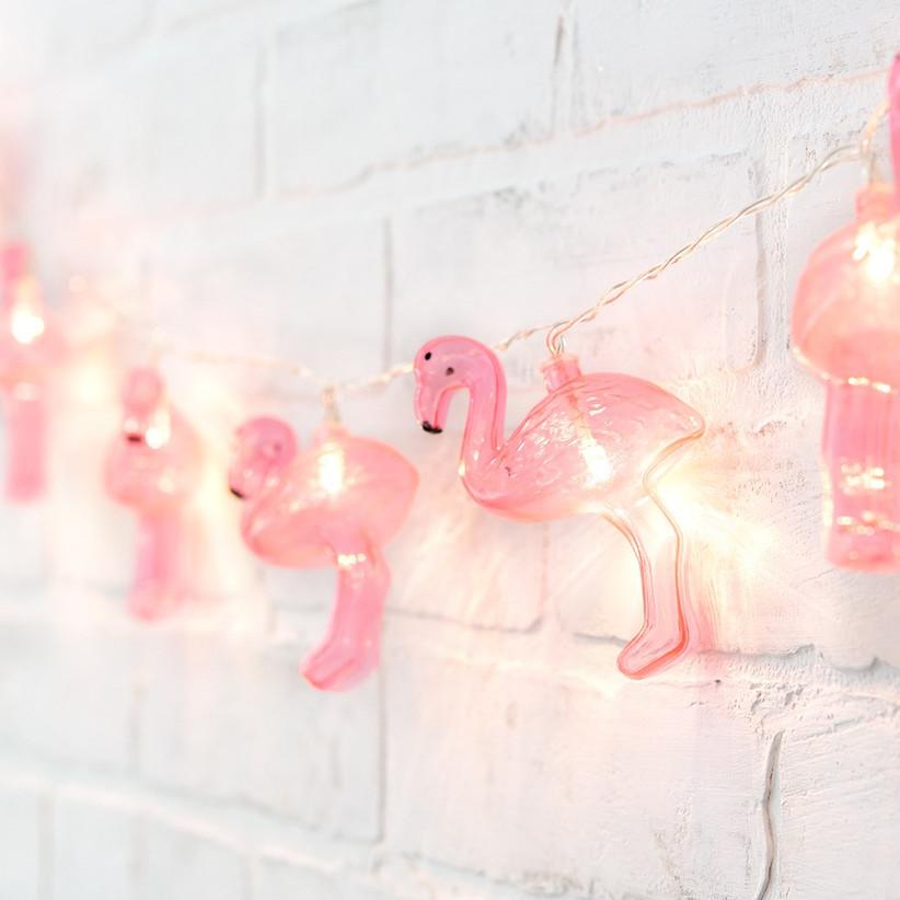 Flamingo party lights