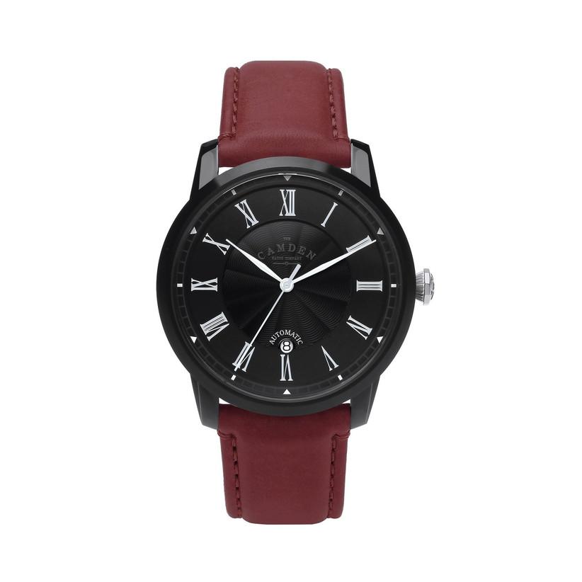 Burgundy engagement watch