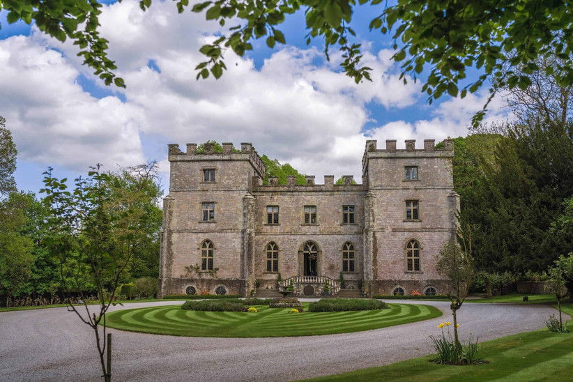 Exterior of Clearwell Castle
