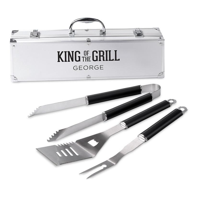BBQ tools grill set