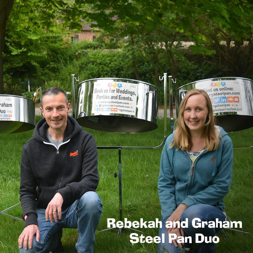 Rebekah and Graham Steel Pan Duo