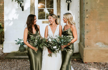From Emerald and Olive to Sage: 32 Gorgeous Green Bridesmaid Dresses
