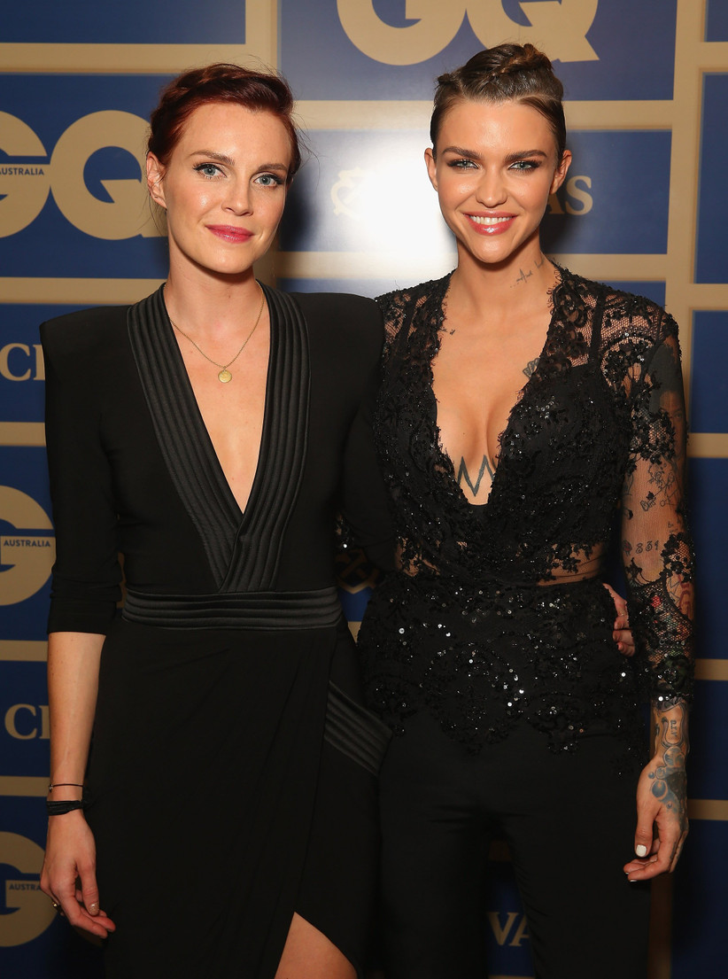 Phoebe Dahl and Ruby Rose