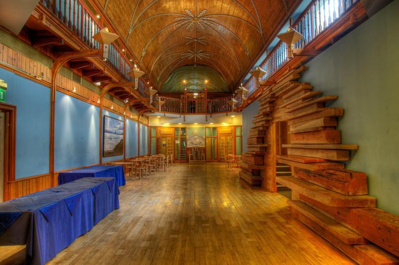 Interior of James MacKay Hall