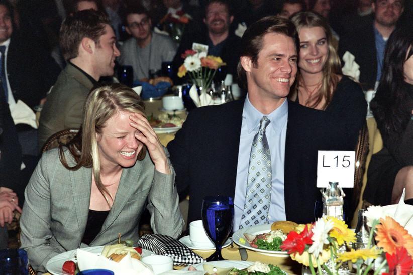 Jim Carrey and Renee Zellweger