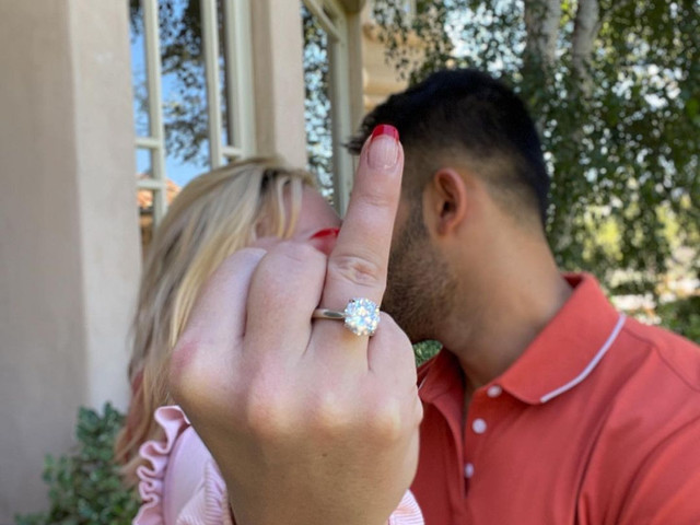 Britney Spears and Sam Asghari Are Engaged! See Her Incredible Ring