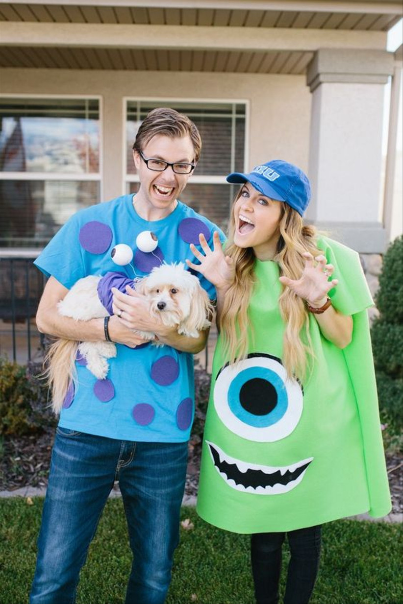 Couples Halloween Costume Monster's Inc.