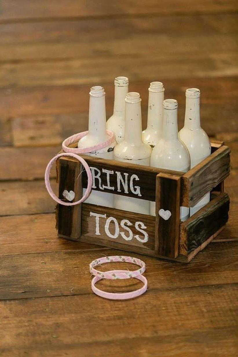 Ring toss wedding game