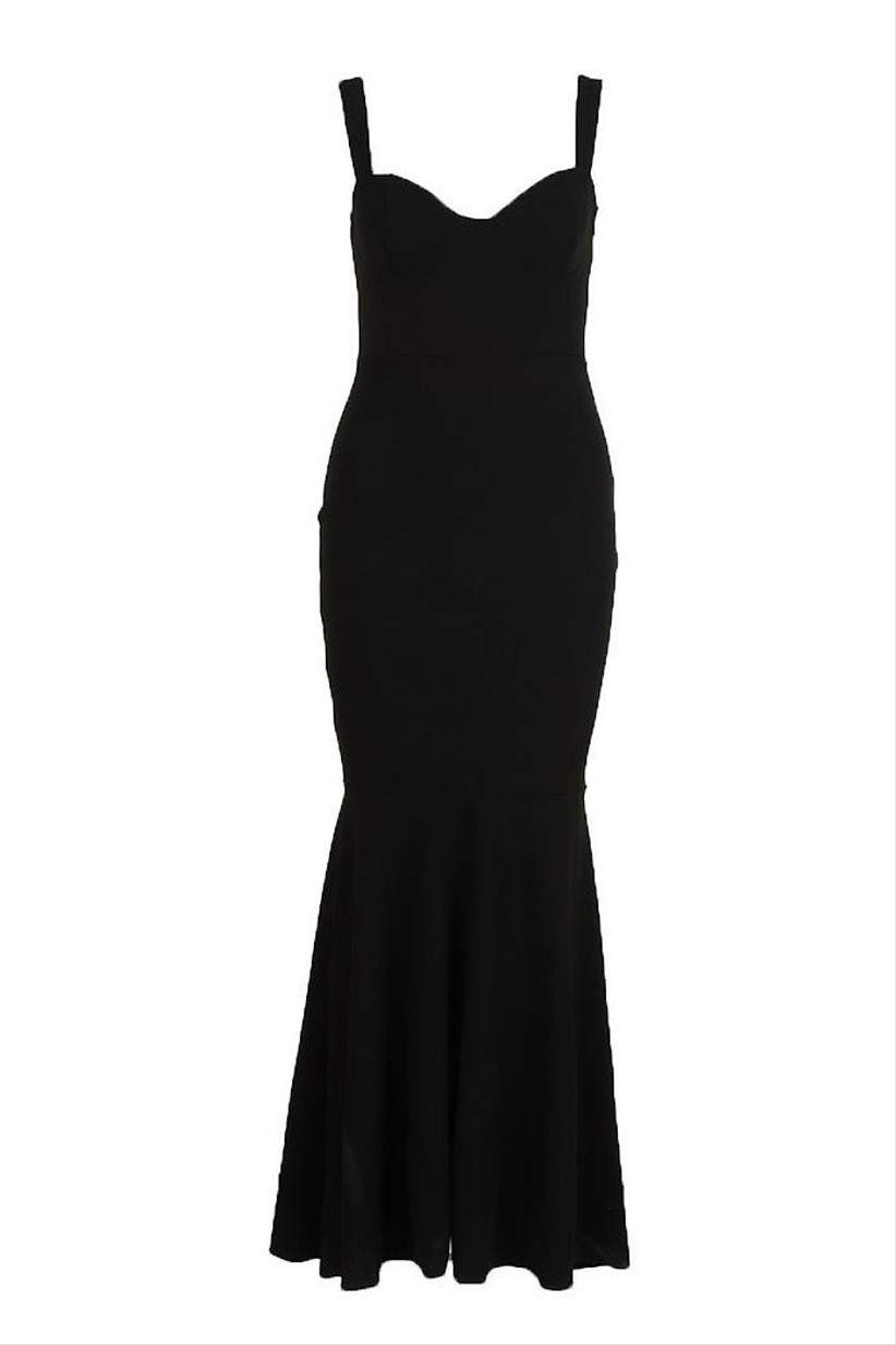 full-length-black-bridesmaid-dress-boohoo-1