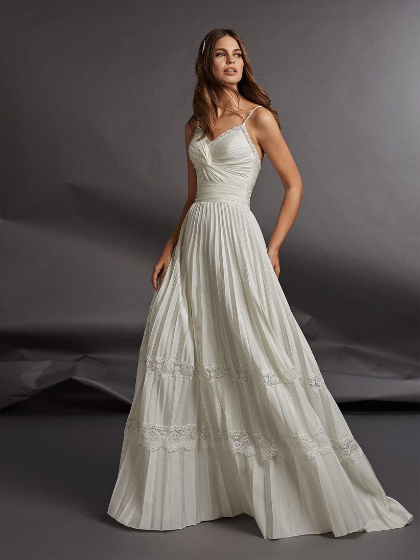 21 Of The Best Casual Wedding Dresses For Laid Back Brides Hitched Co Uk