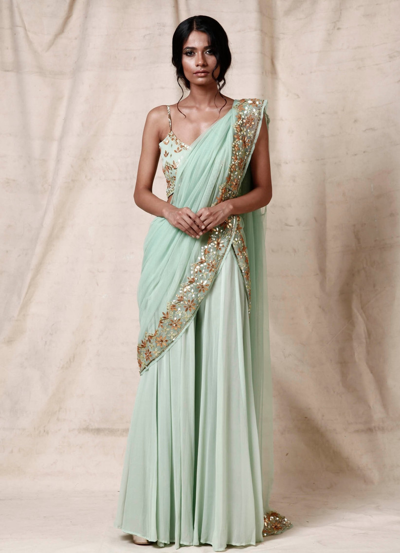 Indian wedding guest outfit 4