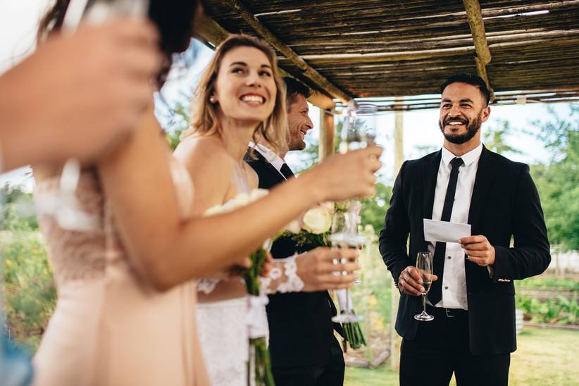 Traditional Wedding Speech Order Explained