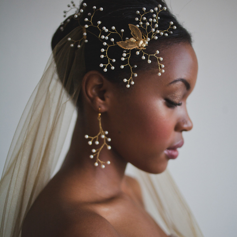Wedding makeup ideas for Black brides 2