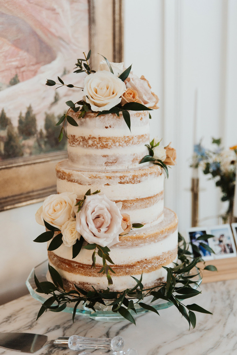 Naked Wedding Cakes | Cakes, Favours & Guest Books