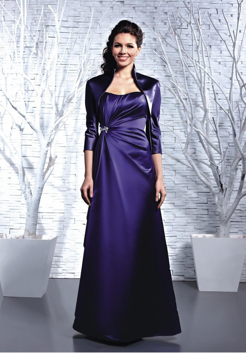 purple-winter-bridesmaid-dress-from-dzage-bridesmaid-that-has-a-matching-long-sleeve-jacket