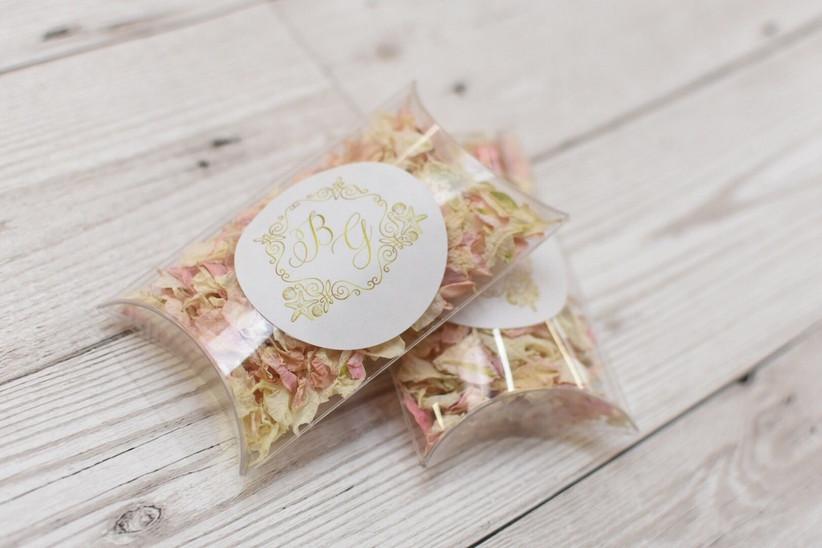 Shropshire Petals confetti pillows