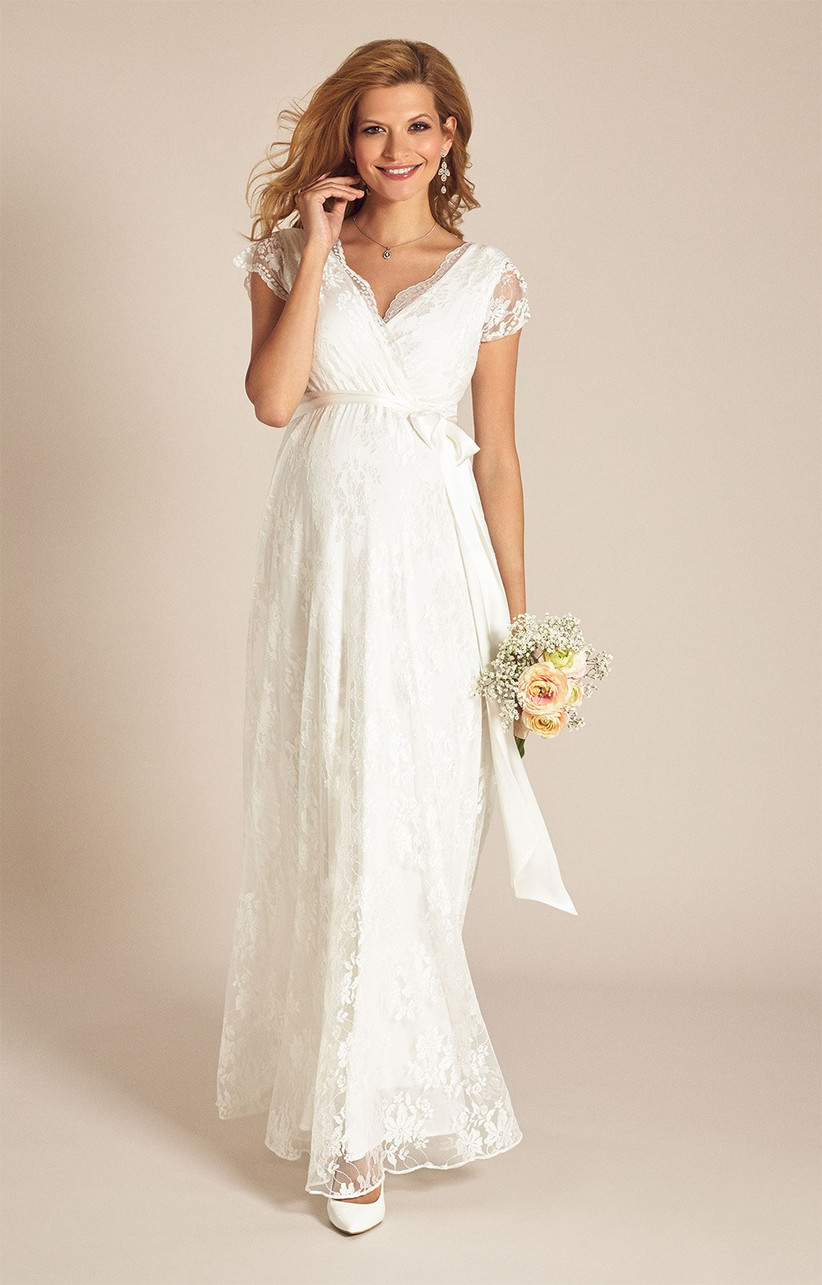 The Best Maternity Wedding Dresses Hitched Co Uk