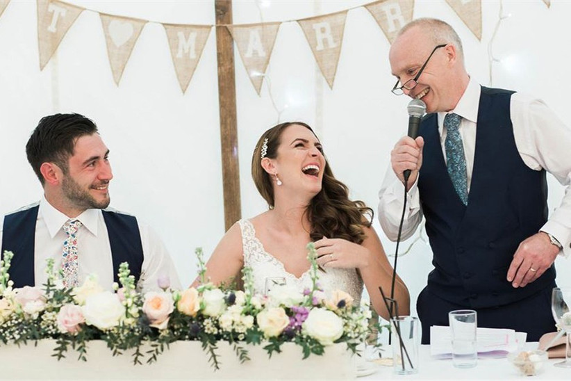 The Traditional Wedding Speech Order Explained Hitched Co Uk