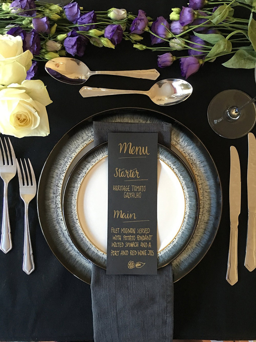 gothic-place-setting