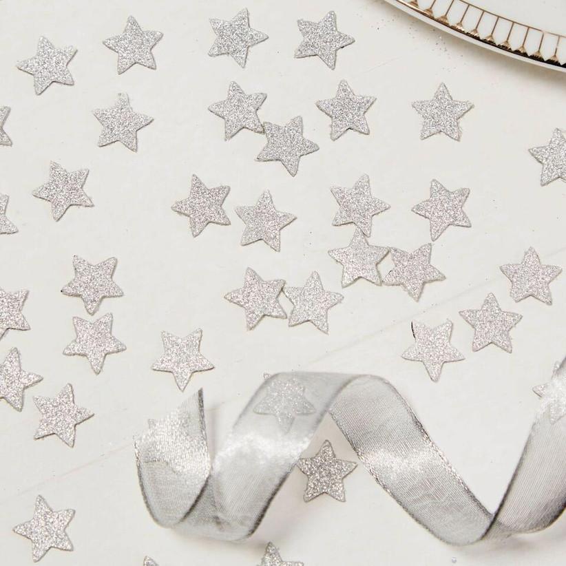 sparkly-silver-star-wedding-confetti